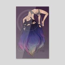 Nebula - Acrylic by Hannah Kienzle