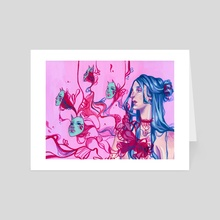 Reves - Art Card by Amelie Valbeny
