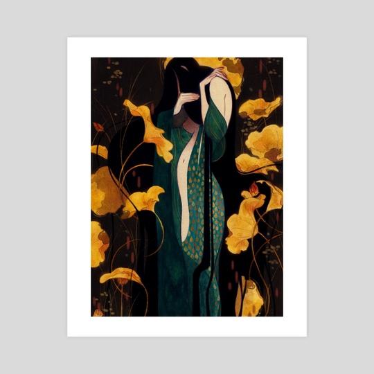Birth of the mermaid by saltweave