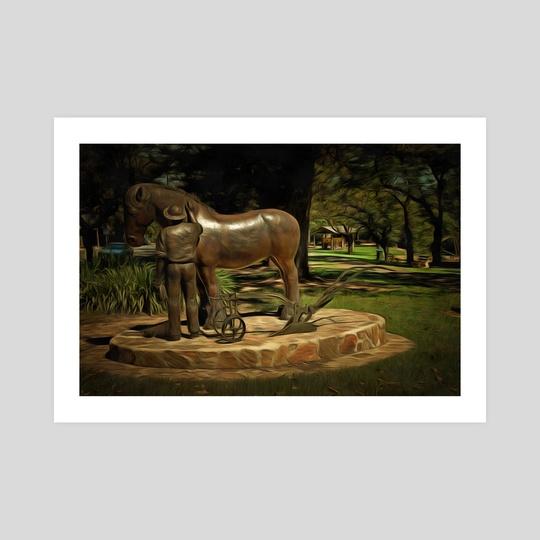 Horse Memorial by Alan Carson