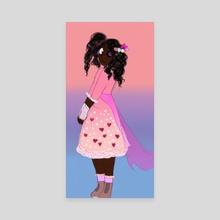 Maria Flores - Canvas by Victoria Jackman