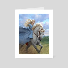 Guinevere - Art Card by Tristan Elwell