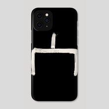 Hobo Sign - 043 - Here is the Place Inverted - Phone Case by Wetdryvac WDV