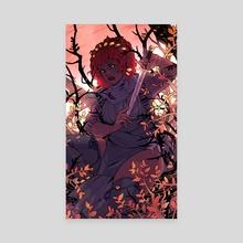 Willow - Canvas by Elizabeth Blundell