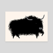 The Yak  - Canvas by Oliver Lake