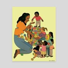 Teachers - Canvas by Dani Crosby