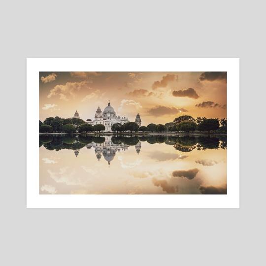 Dusk by Mayukh Roy