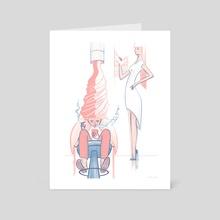 Ice Cream Highlight - Art Card by Marina Loeb