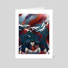 Mikasa - Art Card by Ashley M.