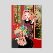 Rosalind - Acrylic by Catallenakat
