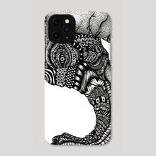 India - Phone Case by Jacque Tiongco