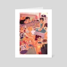 After School - Art Card by Nimali
