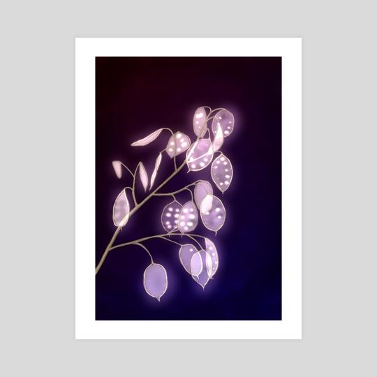 Lunaria Luminous by Anna  Petroshenko