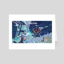 Mondstadt3 - Art Card by Fortisselle