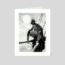 Cape &Bat - Art Card by Tirso Cons