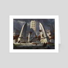 Guildmages' Forum - Art Card by Adam Paquette