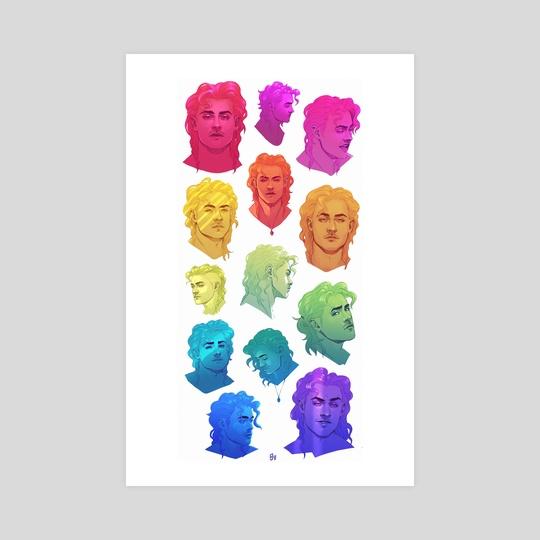 Rainbow Billy by GRAVEGROVES