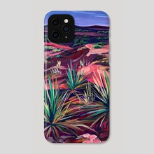 Desert Scene, Caprock Canyon - Phone Case by AnnMarie Young