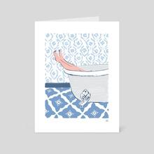Soak - Art Card by Allie Runnion