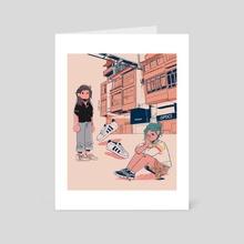Friday Optics - Art Card by Annix Sarmiento