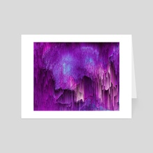 Shatter Falls - Art Card by Jennifer Walsh