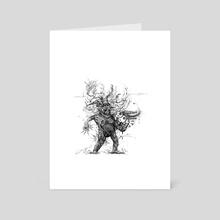 Bursting at the Seams - Art Card by Kai Peterson