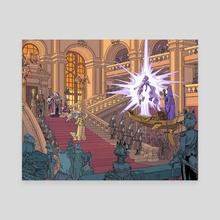 Royals - Canvas by Gael Bertrand