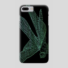 Dragonfly - Phone Case by David Bushell
