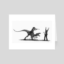 Stick em up - Art Card by Shaun Keenan