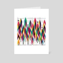 Pinetrees - Art Card by Kakel