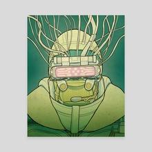 Neuromancer Hunter - Canvas by Morebird