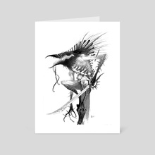 Caim - Art Card by Abigail Harding