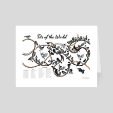 Tits of the World - Art Card by Jada Fitch