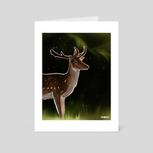 Deer 2 - Art Card by Tomcii Art