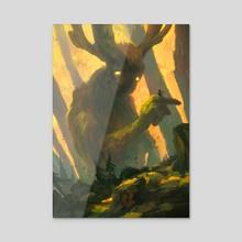 Forest Spirit I - Acrylic by Tuomas Korpi