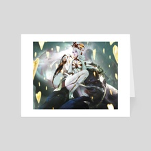 Elizabeth - Art Card by xi zhang