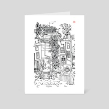 London Snippet - Art Card by Bea Brouwer
