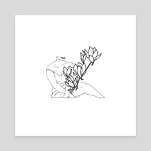 magnolia - Canvas by X