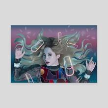 Dahyun Fancy MV - Canvas by Kirsten Jamilla