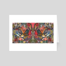 compositions of mind - Art Card by Maethawee Chiraphong