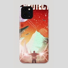 The Protector - Phone Case by Jérémy Hervier