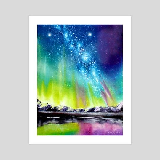 Northern Lights by Addison Kanoelani