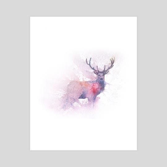 Deer by Dmitry Kaidash
