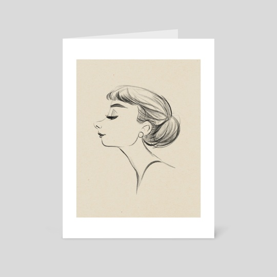 Audrey by Jen Bricking