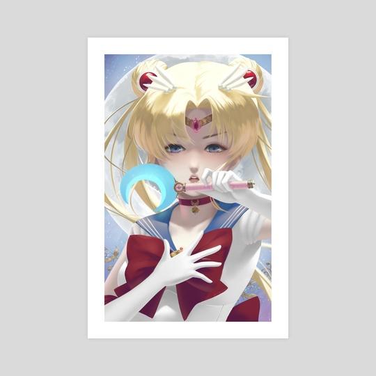 Sailor Moon by Anna Lee