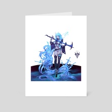 Syrene - Saren Phantom Full Design - Art Card by Zeronis