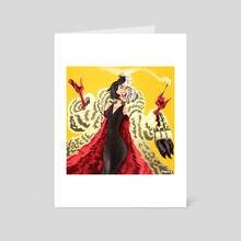 Cruella - Art Card by Ryan Barr