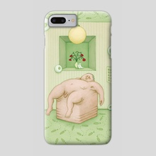 The Helplessness - Phone Case by Benedikt Notter