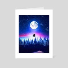 MoonSwing - Art Card by Florin Alex