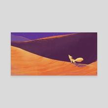 Fox Song - Canvas by Sydni Gregg